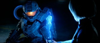 Master Chief Meets Cortana