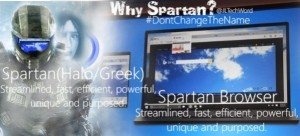 Spartan Don't Change the Name